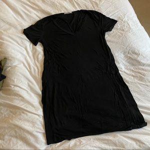 Bear Dance Cute Black Shirt Dress
